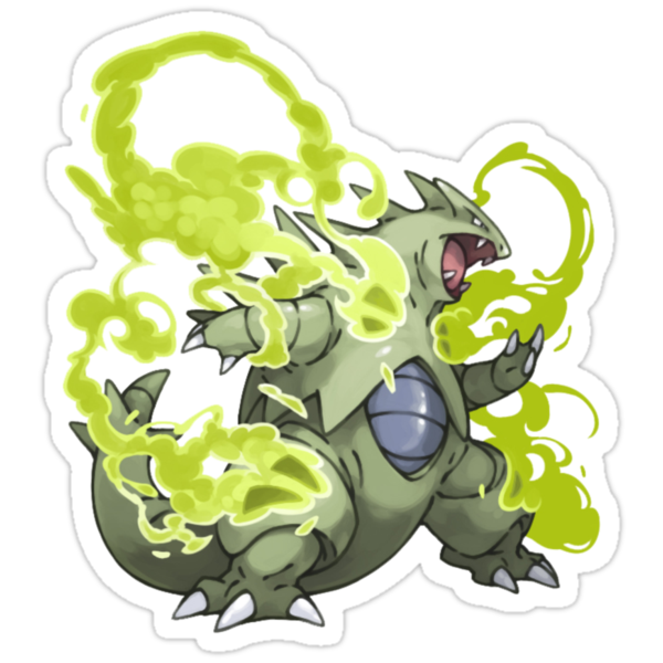 Tyranitar by thevillain