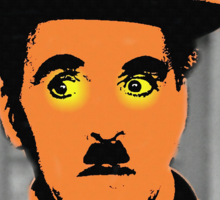 Charles Chaplin Charlot in The Great Dictator Sticker