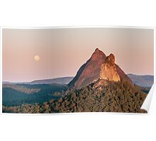 Mt Coonowrin - Glass House Mountains Poster