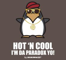 Hot and Cool, I'm da Paradox yo! - Hip Hop Penguin Kids Clothes