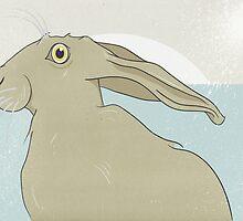 Golden Hare No.13 by Stu  Jones