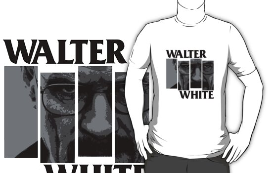 Walter White Black Flag Rip by Scott Rockingham