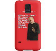 George Carlin - Stupid People Samsung Galaxy Case/Skin