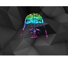 Darth Vader Geometric Style Illustration Photographic Print