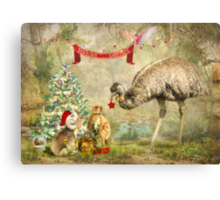 Billabong Christmas Canvas Print