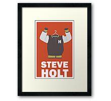 Arrested Development, Steve Holt Illustration Framed Print
