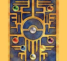 """""""Ancient Mew"""" Card Back Case by Zotheculs"""