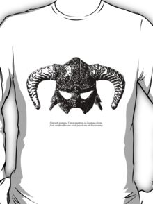 You are the Dragonborn. T-Shirt
