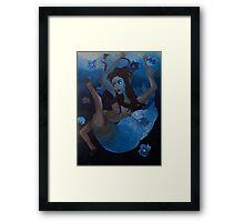 St. Fevronia IV: Falling/Floating Framed Print