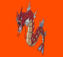 Red Gyarados by coltoncaelin