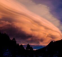 Flight of The Sunset Clouds by Greg Summers