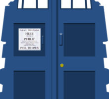 Dalek Tardis Sticker
