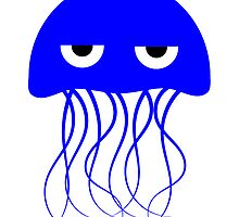Blue Jellyfish by kwg2200