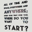 where do you want to start? by mpadfootprongs