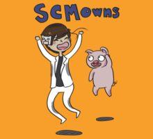 SCMowns and Porkchop T-Shirt & Stickers T-Shirt