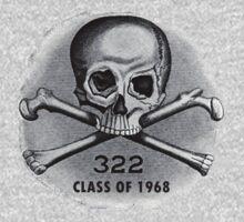 Skull and Bones Secret Society Illuminati T-Shirt by flippinsg