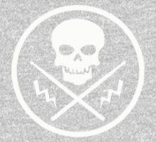 Drum or Die (White) Kids Clothes