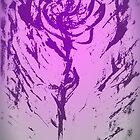 Purple Fade Rose by J. Lovewell
