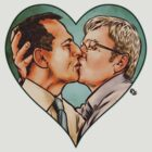 Tony and Kevin by James Fosdike