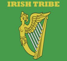 IRISH TRIBE IRELAND HARP by BelfastBoy