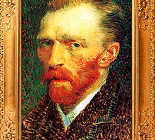 Self Portrait by Vincent van Gogh by ColorPalette