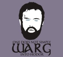 One does not simply warg into Hodor by innercoma