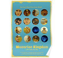 Moonrise Kingdom featuring Suzy Bishop & Sam Shakusky Poster