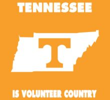 NCAA Tennessee Country Shirt by Plataduc