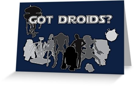 Got Droids? Calling all Jawas! by KAMonkey