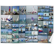 Newhaven & Seaford Sailing Club Collage Poster