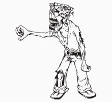 Zombie man T-Shirts & Hoodies by mike desolunk