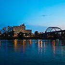 Broadway Bridge at Twilight by Lisa G. Putman