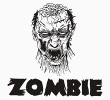 Zombie  T-Shirts & Hoodies by incetelso