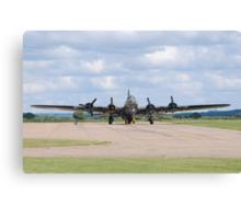 Boeing B-17 Flying Fortress (Sally B) Canvas Print