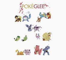 Glee cast as Pokemons by KiWy