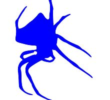 Blue Spider by kwg2200