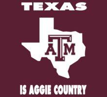 NCAA Texas A&M Country Shirt by Plataduc