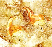 Cave Painting by Alibarbarella