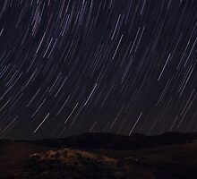 Peyia Startrail by Mark Sawyer