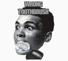 Wrong Toothbrush by Youba