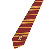 Gryffindor Tie iPhone Case by NatalieMirosch
