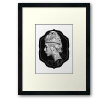 Ren- NU'EST Framed Print