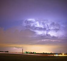 I25 Intra-Cloud Lightning Strikes by Bo Insogna