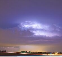 25 to 34 Intra-Cloud Lightning Thunderstorm by Bo Insogna