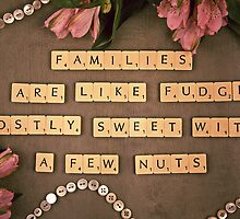 Families Scrabble Letters by PJRPHOTOGRAPHY