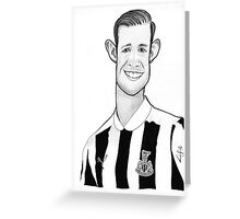 Caricature - Mike Williamson Greeting Card