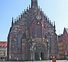 Iglesia de las Mujeres.........Nuremberg. by cieloverde