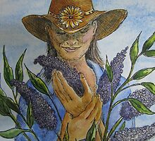 Cowgirl Series: The Butterfly Bush by Jeanne Vail
