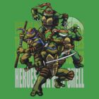 TURTLE POWER! by hugodourado