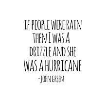 If People Were Rain Photographic Print